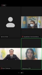 Кайрат Торебаев провел прием граждан на площадке Nur Otan 3