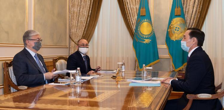 Токаев принял заместителя председателя Ассамблеи народа Казахстана Марата Азильханова 1