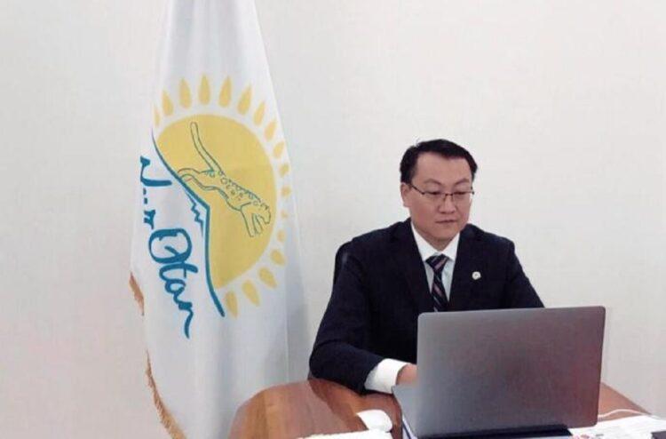 Кайрат Торебаев провел прием граждан на площадке Nur Otan 1
