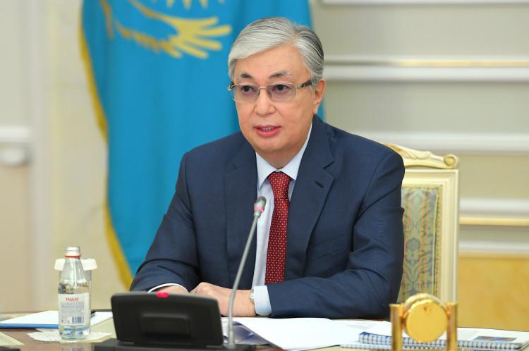 Касым-Жомарт Токаев поздравил казахстанцев с Днем Победы 1