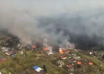 Пожар в Риддере мог произойти по вине одного человека 1
