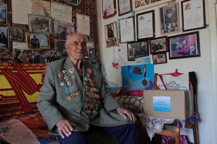 Карагандинская фирма оказала поддержку ветеранам ВОВ 1