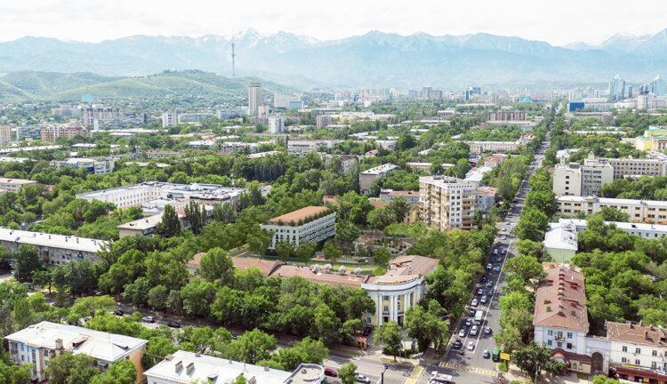 """Вместо двух девятиэтажек в """"золотом квадрате"""" Алматы построят один пятиэтажный дом 1"""