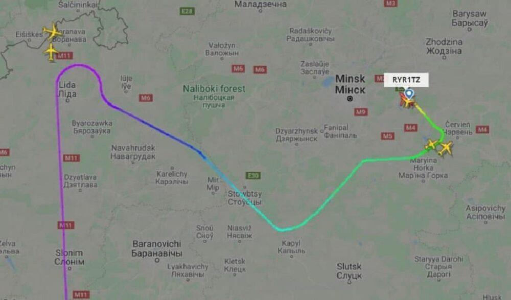 Чем принудительная посадка самолета в Белоруссии отличается от других 1