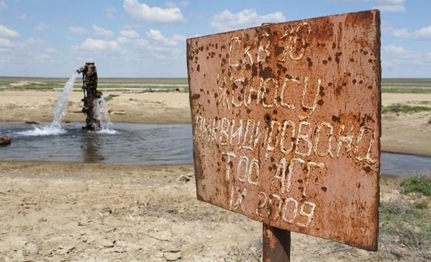 Проблема пресной воды в Атырау