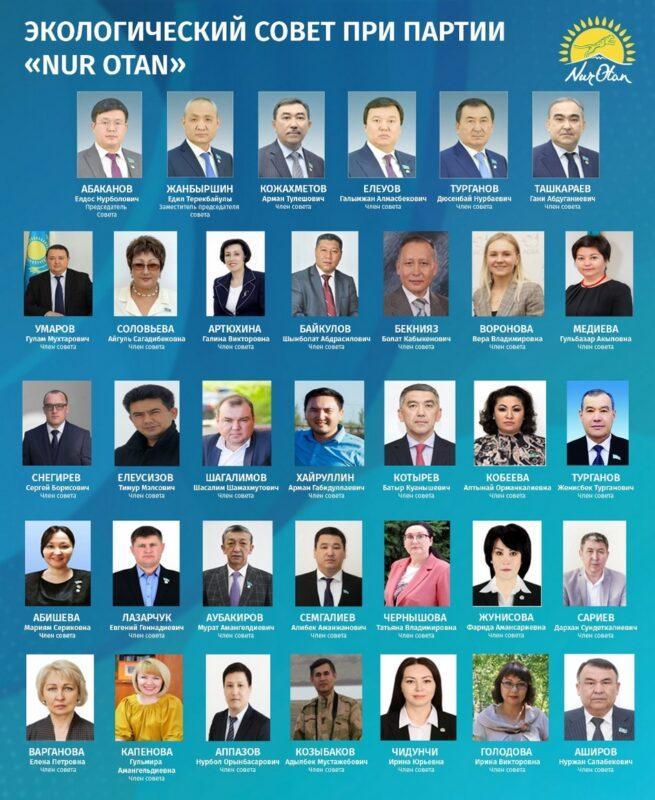 В Nur Otan определили пути решения экологических проблем Казахстана