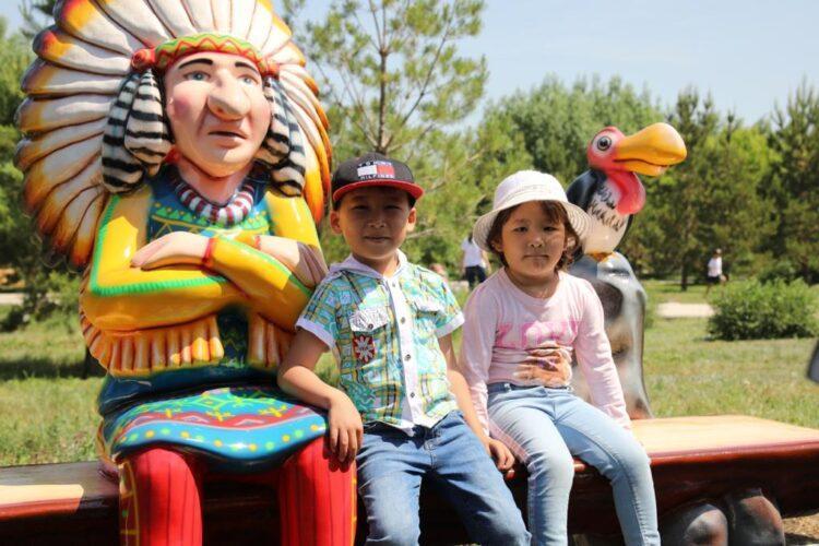 Фонд Нурсултана Назарбаева подарил новый парк для жителей и гостей столицы 1