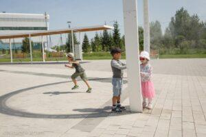 Фонд Нурсултана Назарбаева подарил новый парк для жителей и гостей столицы