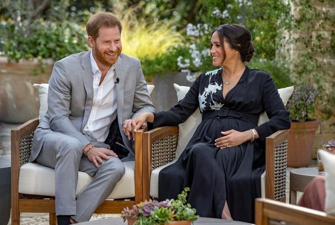 У принца Гарри и Меган Маркл родилась дочь. Малышке дали необычное имя 1