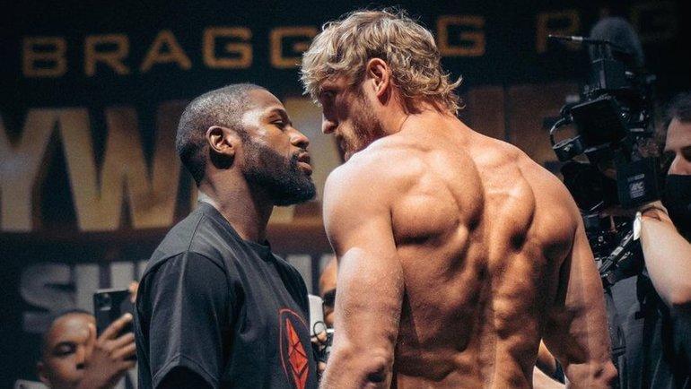 Величайший боксер в истории не смог нокаутировать блогера. Как прошел бой Мейвезер - Пол 1