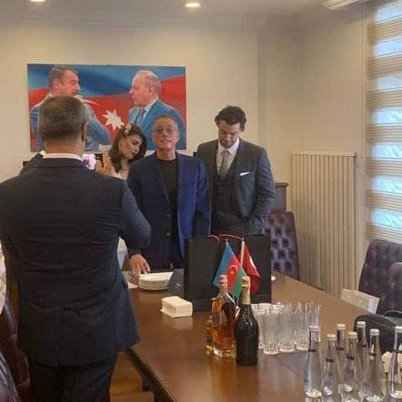 Сын Жан-Клода Ван Дамма женился на азербайджанской пианистке 1