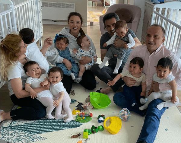 20 детей за год родились в семье россиянки и ее мужа миллионера 1