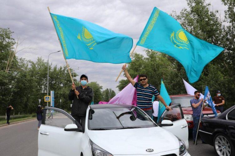 В Нур-Султане республиканские молодежные организации провели патриотическую акцию 1