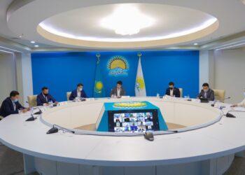 Закрепить законодательно понятие «молодой предприниматель» предложили на заседании молодежного совета Nur Otan 3
