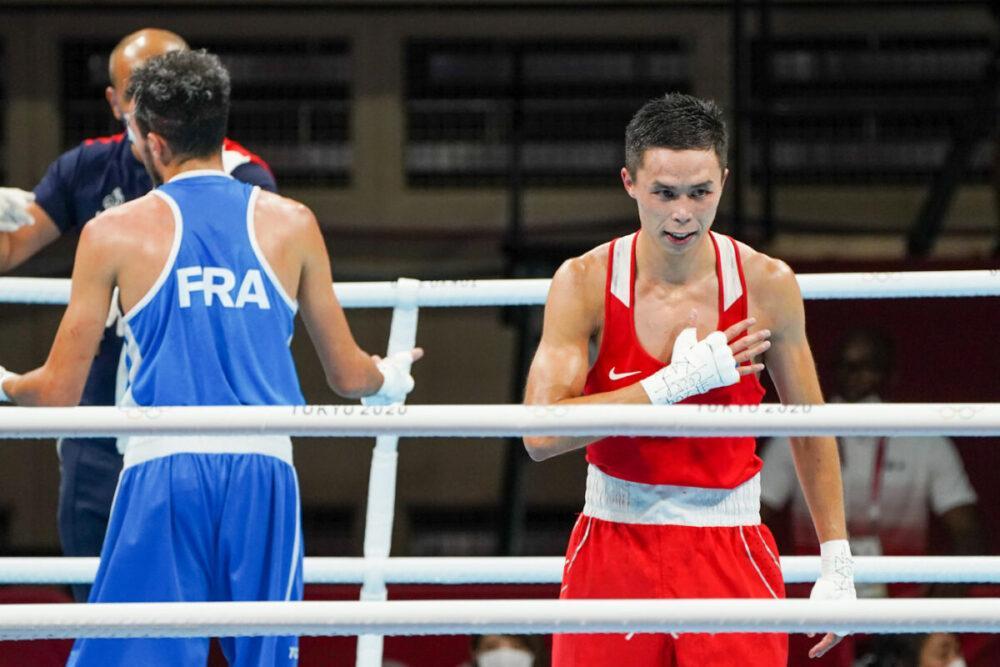 Два казахстанских боксера вышли 1/4 финала олимпийских игр в Токио