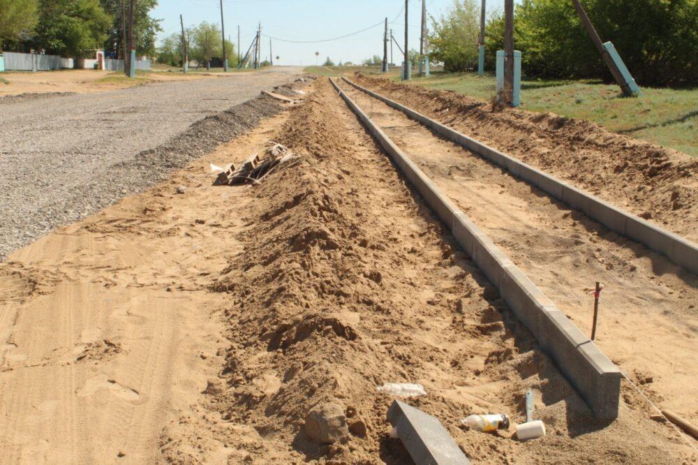 После обращения в Nur Otan в одном из сел Актюбинской области появилась долгожданная дорога