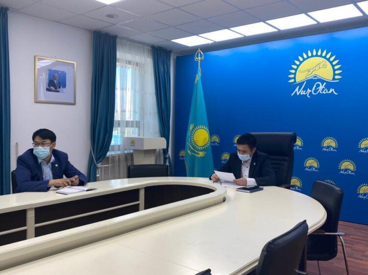 В Нур-Султане прошло заседания депутатской фракции партии «Nur Otan» 1