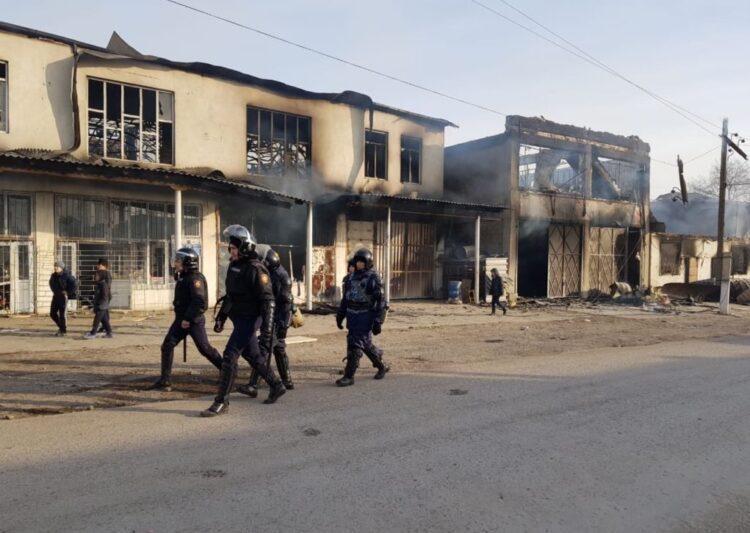 Приговоры смягчили нескольким участникам массовых беспорядков в Кордайском районе 1