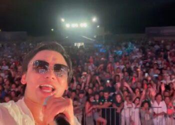 Кайрат Нуртас устроил концерт на Алаколе, несмотря на карантин 1