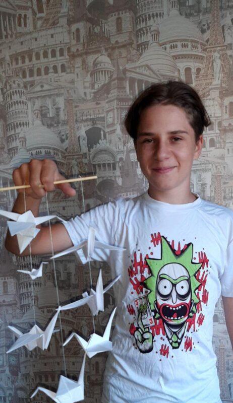 Бумажный журавль – символ безъядерного мира 1