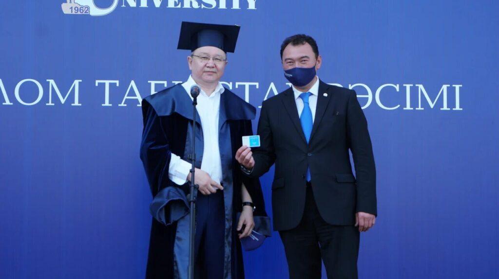 В Ualikhanov University состоялось торжественная церемония вручения дипломов 2