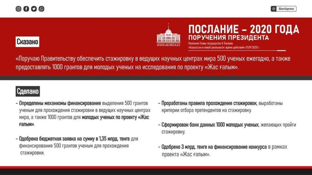 Казахстанским ученым выделят гранты для стажировок и исследовательских работ 1