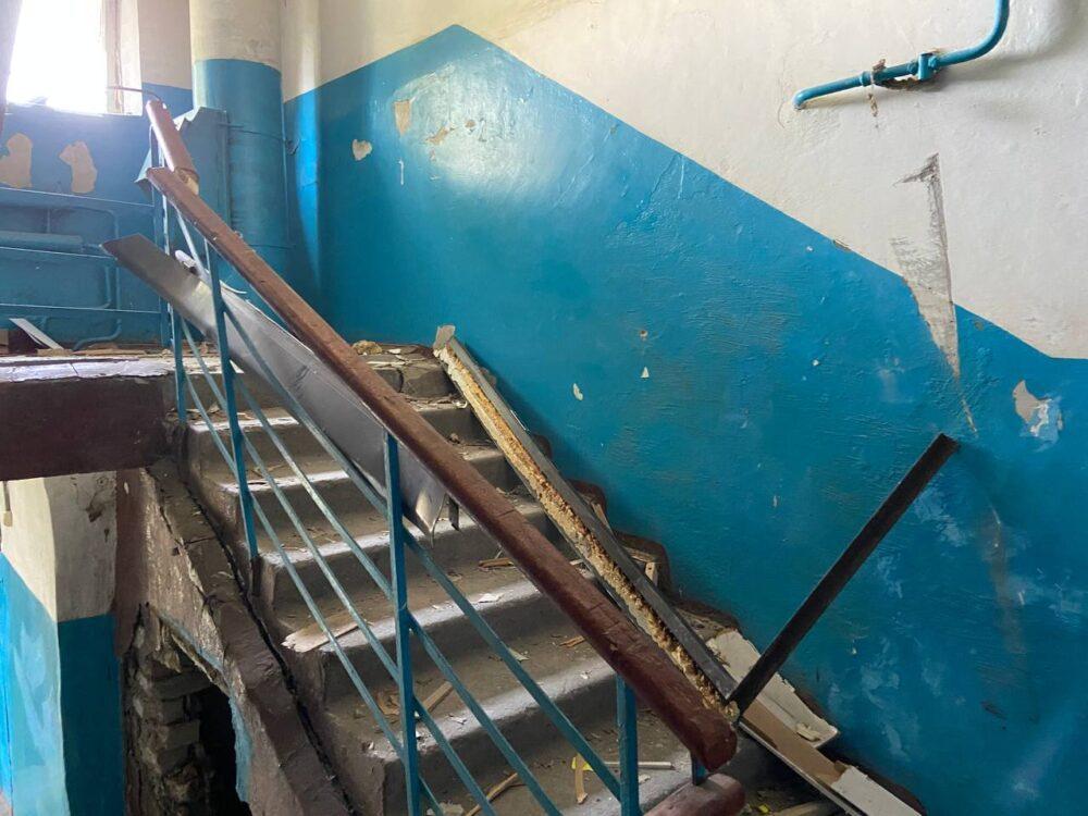 Десятки семей остались без крова после взрыва газа в Нур-Султане 5