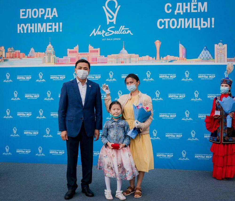Новоселье в День столицы отмечают 400 семей в Нур-Султане 5