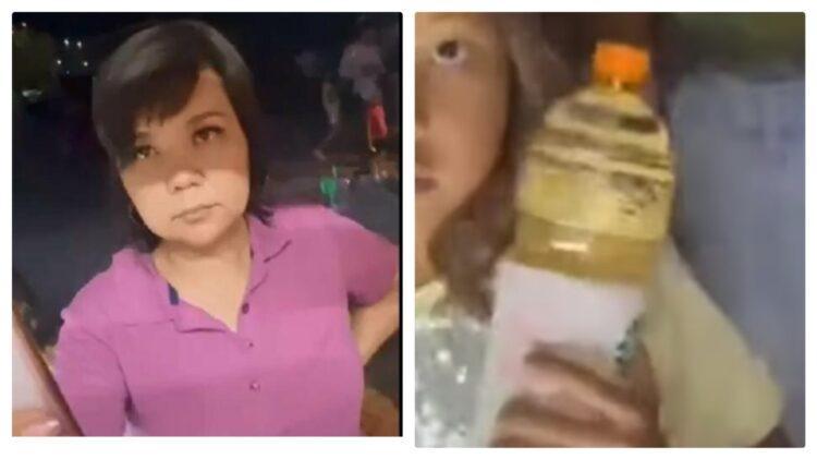 Чиновница из Актау устроила скандал, требуя в магазине скидку на сок 1