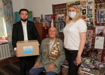 Карагандинские предприниматели поддержали сотни семей продуктами 1