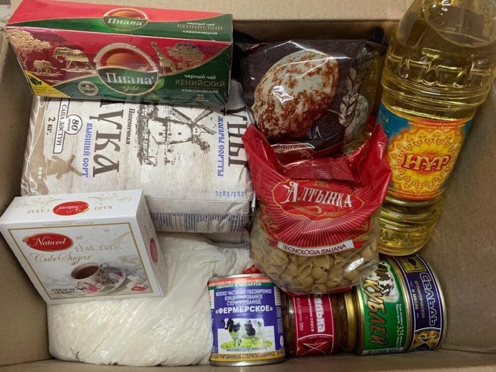 Карагандинские предприниматели поддержали сотни семей продуктами 5