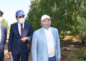 Елбасы предложил придать «зеленому поясу» Нур-Султана статус национального парка 2