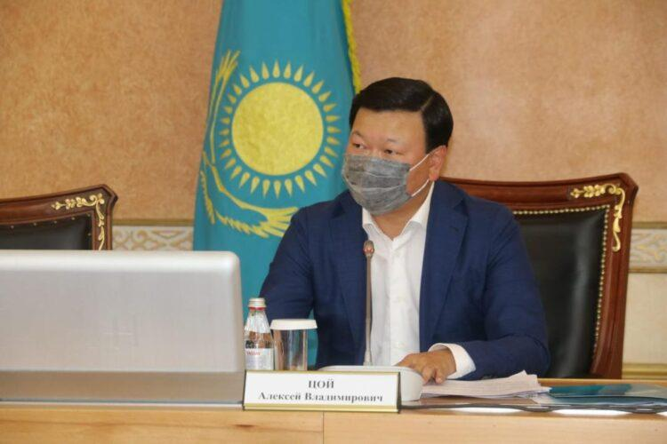 Фото пресс-службы Минздрава РК