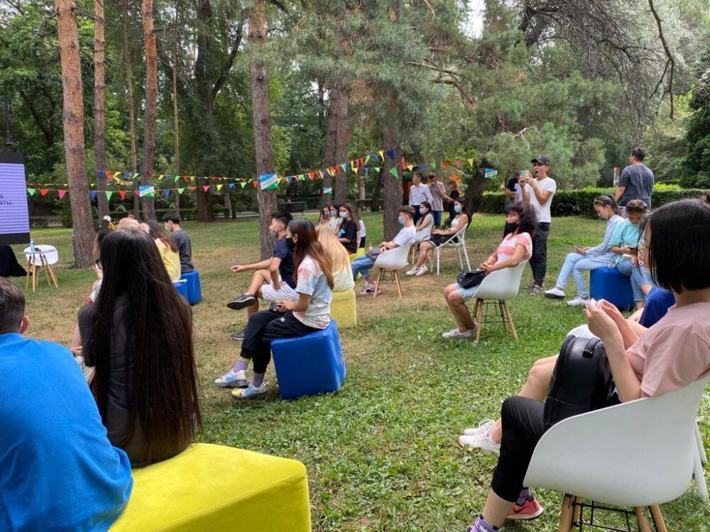 Молодежь Алматы узнала больше о профессиях будущего 3