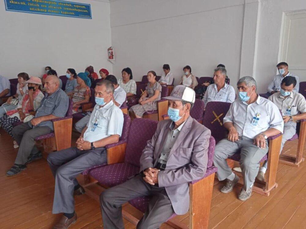 Кандидат в акимы района Жамбылской области собирается заняться газификацией и интернетом 2