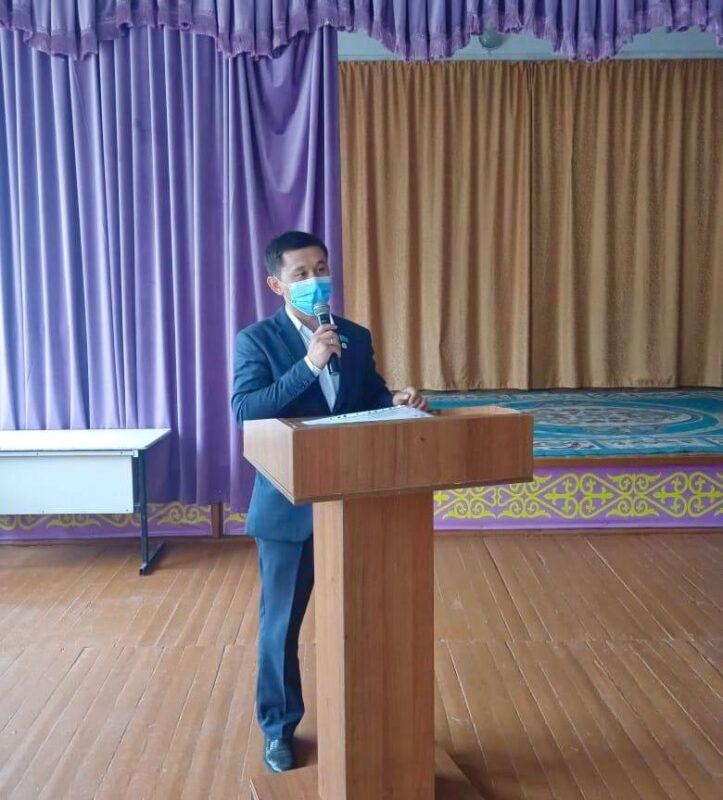 Кандидат в акимы района Жамбылской области собирается заняться газификацией и интернетом 1