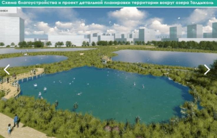 Общественники Нур-Султана просят не осушать озеро Талдыколь