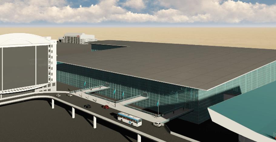 В аэропорту Алматы построят новый международный терминал