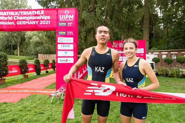 Казахстанцы завоевали 21 медаль на Чемпионате Мира по биатл и триатл 3