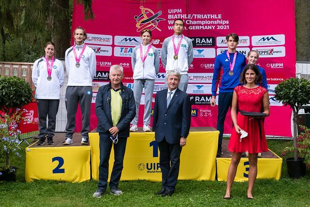 Казахстанцы завоевали 21 медаль на Чемпионате Мира по биатл и триатл 12