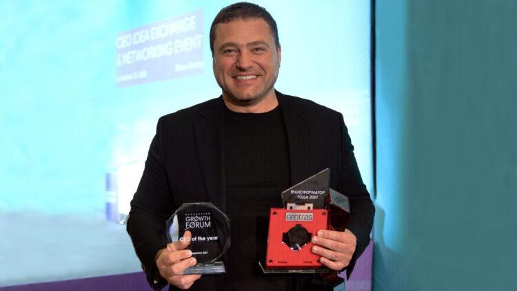 Михаил Ломтадзе и Kaspi.kz получили три награды на Kazakhstan Growth Forum 1