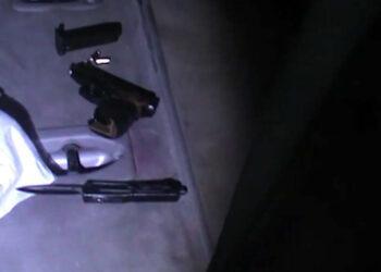 В Алматы задержали мужчину с арсеналом оружия 1