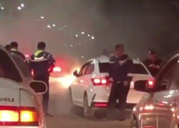 В Алматы автоугонщик устроил массовое ДТП, сбегая от полицейских 1