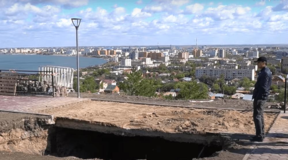 ЧП на смотровой площадке в Кокшетау: флагшток обошелся властям в 34 миллиона тенге