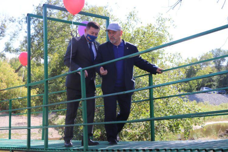 Депутат Nur Otan за свой счет построил мост актюбинцам 1