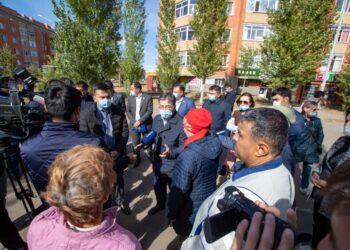 Проблемы жителей Косшы решаются благодаря Nur Otan 2