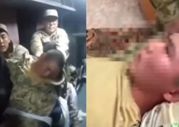 """Из казахстанского солдата """"изгоняли бесов"""": в КНБ прокомментировали шокирующее видео 1"""