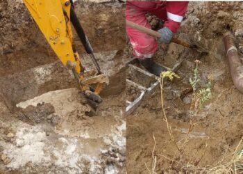 Десятки домов в Аксае остались без воды из-за аварии 1
